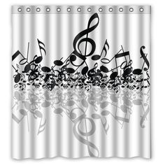 This 100% polyester shower curtain is sure to add some flare to your bathroom. With our vast array of interesting designs (that only XDDesigns carries) and innovative design options you will be sure to create a piece of artwork that is so completely you. Our designs have been called loud,