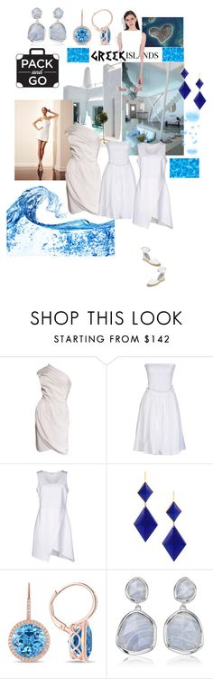 """""""LittleWhite"""" by alla-chernets ❤ liked on Polyvore featuring Valentino, Givenchy, Clió, Marie Hélène de Taillac, Diana M. Jewels, Monica Vinader, Ash, Packandgo and greekislands"""