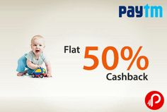Paytm is giving flat 50% off on toys. Offer valid on 1000+ toy products. 50% Cashback Coupon Code: TOYZ50  http://www.paisebachaoindia.com/flat-50-cashback-on-toys-paytm/