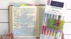 fischtales bible journaling - YouTube