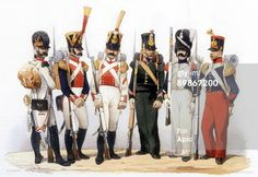 Photo d'actualité : Uniforms of french army infantry of the...
