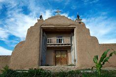 san yisedro church NM | Church of San Jose de Gracia. Las Trampas, New Mexico.