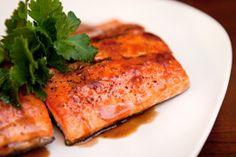 Seared Salmon With Balsamic Glaze. Photo by CulinaryExplorer