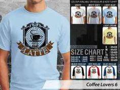 Kaos Penggemar Kopi Espresso, Kaos Coffee Starbucks Lovers, Kaos Espresso Addict, Kaos Coffee Latte Addict