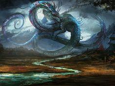 Chinese Dragon Artwork xHD Wallpaper on MobDecor http://www.mobdecor.com/b2b/wallpaper/220401-chinese-dragon-artwork