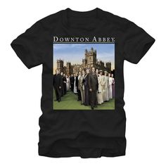 Downton Abbey Men's - Full Cast T-Shirt #downton #downtonabbey #pbs