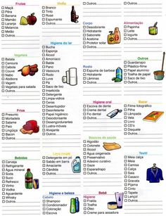 lista de compras en español - Buscar con Google