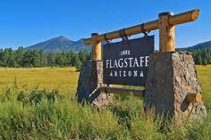 Flagstaff Arizona sign