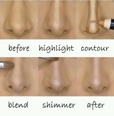 Fat Nose Nose Contour Is For You #Beauty #Trusper #Tip
