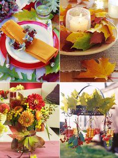schöne-Herbst-Deko-Ideen-erfarben-ins-haus Home Pinterest ...