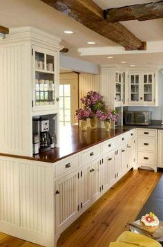 35 gorgeous farmhouse kitchen cabinet makeover ideas