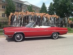 1969 Ford Galaxie 390 XL convertible three speed (3 on tree) real survivor with less than 54,000 original miles