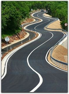 Looking for this road on every trip