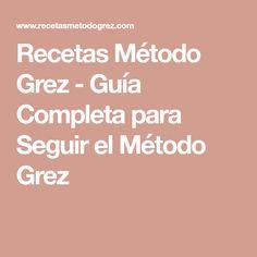 Recetas Método Grez - Guía Completa para Seguir el Método Grez Cooking Recipes, Healthy Recipes, Healthy Food, Empanadas, Diets, Gluten, Joy, Autumn, Coconut Cookies