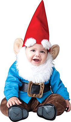 The Boys Toddler Garden Gnome Costume is the perfect 2019 Halloween costume for you. Show off your Baby costume and impress your friends with this top quality selection from Costume SuperCenter! Garden Gnome Halloween Costume, First Halloween Costumes, Baby First Halloween, Halloween Kostüm, Halloween Fancy Dress, Spirit Halloween, Halloween Costumes For Brothers, Halloween Supplies, Halloween Clothes