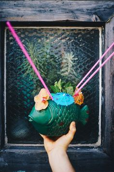 Squeeze the most out of summer's last days with this tiki recipe from Austin, Texas. | Photo by Mark Weatherford.