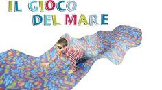 Silvia Comini, esperta  di feste per bambini ci spiega come organizzare dei giochi adatti alle feste per bambini dai 0 ai 3 anni. Scopri il gioco del mare!
