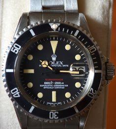 "Rolex 1680 ""RED"" Submariner"