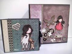 DIY Tutorial mini album gorjuss idea para regalar - YouTube