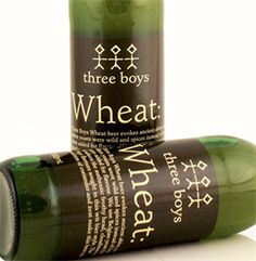 three boys wheat beer