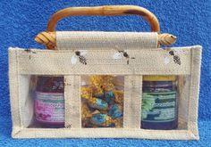 Geschenk-BDT Jute, Lunch Box, Honey Bees, Bees, Gifts, Utah, Burlap
