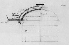 Kimbell Art Museum Drawing - Louis Kahn