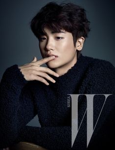 ZE:A Hyung Sik - W Magazine January Issue '15