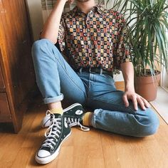 Best fashion outfits from the and - vintage outfits Mode Outfits, Retro Outfits, Vintage Outfits, Fashion Outfits, Fashion Vintage, Retro Fashion Mens, Fashion Ideas, 80s Outfits Mens, Mens Grunge Fashion