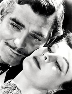 Vivien Leigh & Clark Gable in Gone with the Wind (1939)