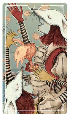 Ostara Tarot -  If you love Tarot, visit me at www.WhiteRabbitTarot.com