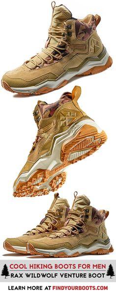 Stylish sneaker hiking boot hybrid. Rax Wild Wolf Mid mens hiking shoes.