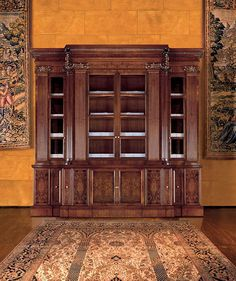 Biblioteca clásica / de madera / acristalada G7 MASCHERONI