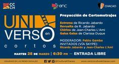 """""""Universo En Cortos"""" muestra lo más reciente del Cine Animado en el Centro Cultural Chacao http://crestametalica.com/universo-en-cortos-muestra-lo-mas-reciente-del-cine-animado-en-el-centro-cultural-chacao/ vía @crestametalica"""
