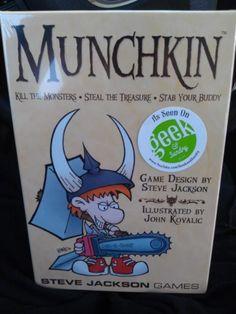from Twitter user @Some_Broad92626 #munchkin #boardgame #geekandsundry