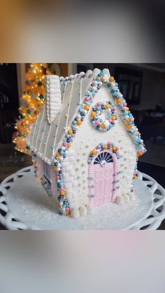 Gingerbread House Designs, Gingerbread House Parties, Gingerbread Decorations, Christmas Gingerbread House, A Christmas Story, Gingerbread Houses, Christmas Desserts, Christmas Treats, Christmas Baking