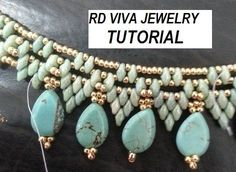 Tutorial San Francisco Necklace by RDVIVAJEWELRY on Etsy