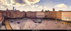Piazza Del Campo, Siena, Italia. by Jean-Philippe Pagniez on 500px
