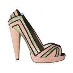 Chrissie Morris art deco inspired shoes