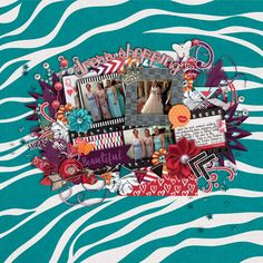 Template and Kit:  Meagan's Creations - Girls Night Out