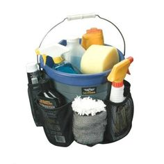 Bucket Belt Cleaning & Detailing Organizer Holster Buddy Caddy House Car Wash