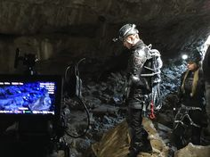 Behind-the-scenes shot from the FLASHFALL book trailer. Dram and Orion down tunnel nine. Sci Fi Fantasy, Behind The Scenes, Novels, Darth Vader, Book, Fictional Characters, Books, Livres, Fantasy Characters