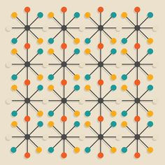 Mid-Century Modern Design & Decorating Guide - FROY BLOG - Mid-Century Modern Pattern