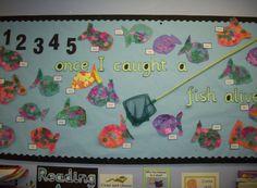 12345 Ounce I Caught a Fish Alive Classroom Display Photo - SparkleBox
