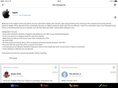 Svartling Network: It's fun to have the biggest Google+ Community about Apple :)