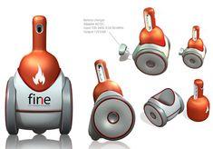 First INtelligent Extinguisher (FINE) Robot