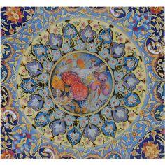 Tezhip ( Guilding), a traditional Arabic decorative art technique . Could not trace the artist.
