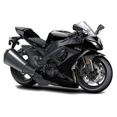 Kawasaki Ninja Black Motorcycle Greeting Card ❤ liked on Polyvore featuring home, home decor, stationery, vehicles, cars, motorcycles, carros and etc