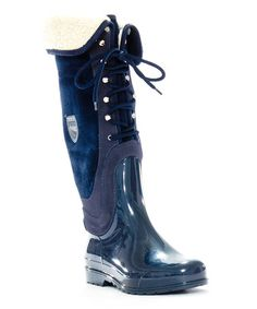 Take a look at this Navy Cressy Boot by Pajar on #zulily today!