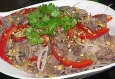 Salad with Muscle Beef Recipe