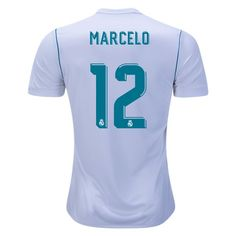 6de77dde4 adidas Marcelo Real Madrid Home Jersey 17 18 World Cup 2017